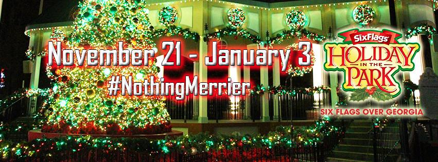 Holiday in the Park at Six Flags over Georgia (Nov 21-Jan 3, 2015 ...
